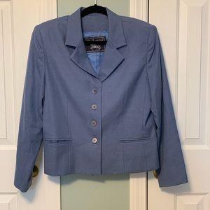 Burberry Blue Blazer size 12